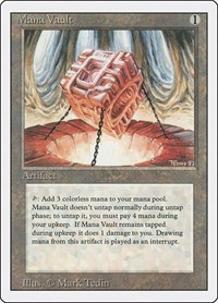Mana Vault, Magic: The Gathering, Revised Edition