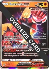 Buzzwole GX - SM69 (SM Black Star Promos), Pokemon, Jumbo Cards