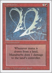 Manabarbs, Magic: The Gathering, Revised Edition