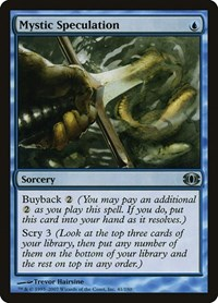 Mystic Speculation, Magic: The Gathering, Future Sight