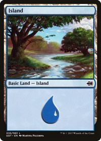 Island (30), Magic: The Gathering, Duel Decks: Merfolk vs. Goblins