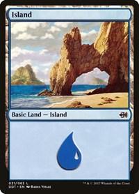 Island (31), Magic: The Gathering, Duel Decks: Merfolk vs. Goblins