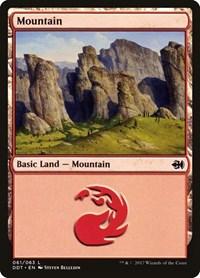 Mountain (61), Magic: The Gathering, Duel Decks: Merfolk vs. Goblins