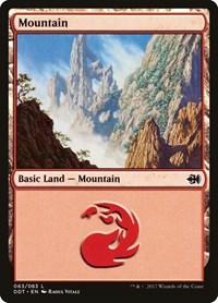 Mountain (63), Magic: The Gathering, Duel Decks: Merfolk vs. Goblins