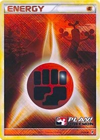 Fighting Energy - 93/95 (Play! Pokemon Promo), Pokemon, League & Championship Cards
