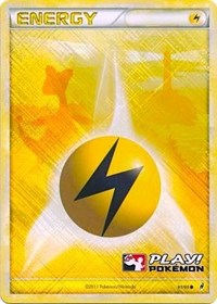 Lightning Energy - 91/95 (Play! Pokemon Promo), Pokemon, League & Championship Cards