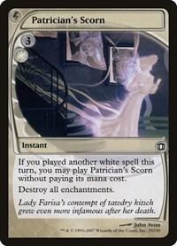 Patrician's Scorn, Magic: The Gathering, Future Sight