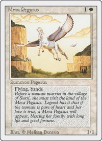 Mesa Pegasus, Magic, Revised Edition