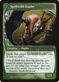 Spellwild Ouphe, Magic: The Gathering, Future Sight