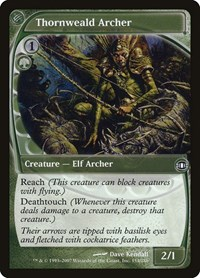 Thornweald Archer, Magic: The Gathering, Future Sight
