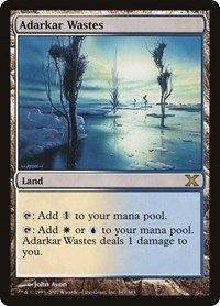 Adarkar Wastes, Magic: The Gathering, 10th Edition