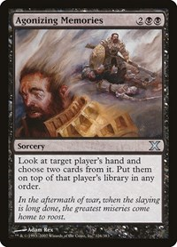 Agonizing Memories, Magic: The Gathering, 10th Edition
