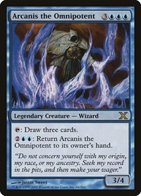 Arcanis the Omnipotent, Magic: The Gathering, 10th Edition