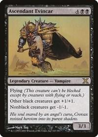 Ascendant Evincar, Magic: The Gathering, 10th Edition