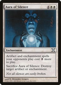 Aura of Silence, Magic: The Gathering, 10th Edition