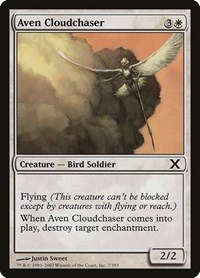 Aven Cloudchaser, Magic: The Gathering, 10th Edition