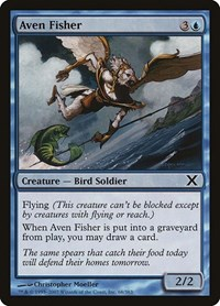 Aven Fisher, Magic: The Gathering, 10th Edition