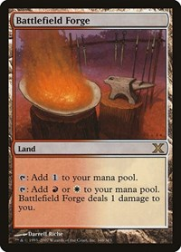 Battlefield Forge, Magic: The Gathering, 10th Edition