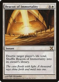 Beacon of Immortality, Magic: The Gathering, 10th Edition