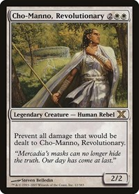 Cho-Manno, Revolutionary, Magic: The Gathering, 10th Edition