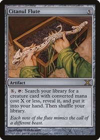Citanul Flute, Magic: The Gathering, 10th Edition