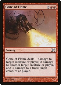 Cone of Flame, Magic: The Gathering, 10th Edition