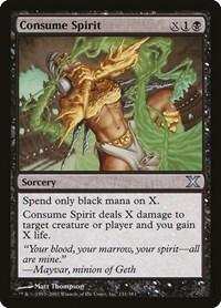 Consume Spirit, Magic: The Gathering, 10th Edition