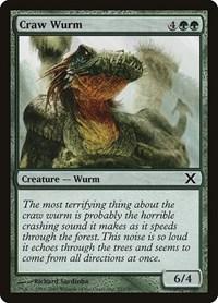 Craw Wurm, Magic: The Gathering, 10th Edition