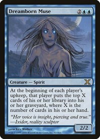 Dreamborn Muse, Magic: The Gathering, 10th Edition