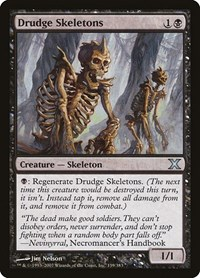 Drudge Skeletons, Magic: The Gathering, 10th Edition