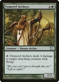 Femeref Archers, Magic: The Gathering, 10th Edition