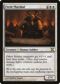 Field Marshal, Magic: The Gathering, 10th Edition