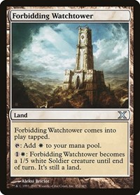 Forbidding Watchtower (Foil)