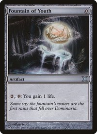 Fountain of Youth, Magic, 10th Edition