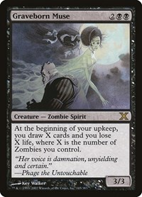 Graveborn Muse, Magic: The Gathering, 10th Edition