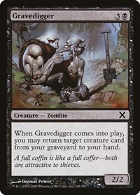 Gravedigger, Magic: The Gathering, 10th Edition