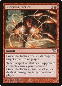 Guerrilla Tactics, Magic, 10th Edition
