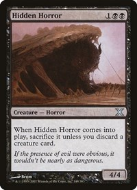 Hidden Horror, Magic: The Gathering, 10th Edition