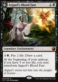 Arguel's Blood Fast, Magic: The Gathering, From the Vault: Transform