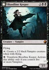 Bloodline Keeper, Magic: The Gathering, From the Vault: Transform