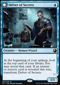 Delver of Secrets, Magic: The Gathering, From the Vault: Transform