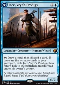 Jace, Vryn's Prodigy, Magic: The Gathering, From the Vault: Transform
