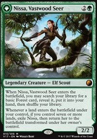 Nissa, Vastwood Seer, Magic: The Gathering, From the Vault: Transform