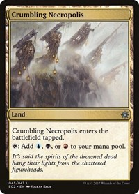 Crumbling Necropolis, Magic: The Gathering, Explorers of Ixalan
