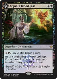 Arguel's Blood Fast, Magic: The Gathering, Buy-A-Box Promos