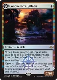 Conqueror's Galleon, Magic: The Gathering, Buy-A-Box Promos