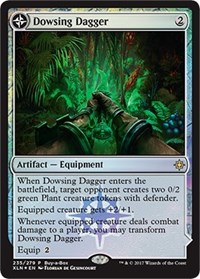 Dowsing Dagger, Magic: The Gathering, Buy-A-Box Promos