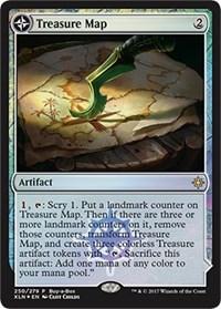Treasure Map, Magic: The Gathering, Buy-A-Box Promos
