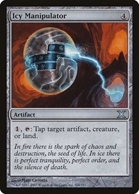 Icy Manipulator, Magic: The Gathering, 10th Edition