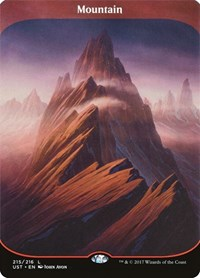 Mountain, Magic: The Gathering, Unstable